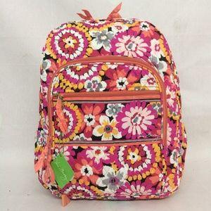 NWT Vera Bradley Campus Backpack Pixie Blooms
